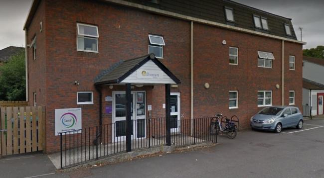 Headquarters Of The Somerset Wide Integrated Sexual Health Service (SWISH) On Castle Street In Taunton. CREDIT: Google Maps. Free to use for all BBC wire partners.