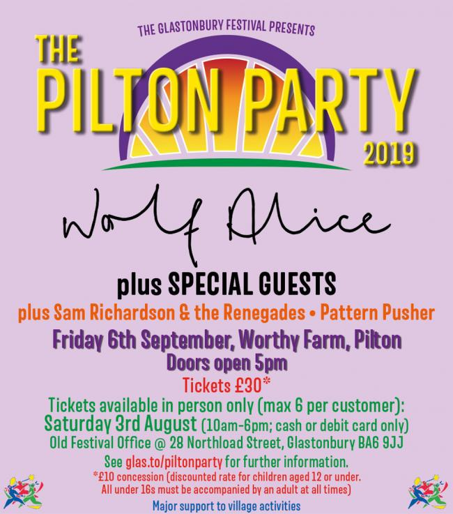 LINE-UP: For the Pilton Party 2019