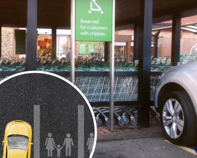 CONCERNS: 1 in 4 parent and child parking spaces are being used by drivers without kids