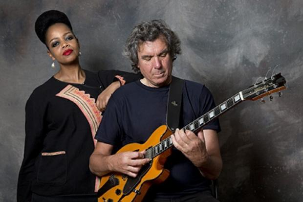 Guitarist John Etheridge and vocalist Vimala Rowe