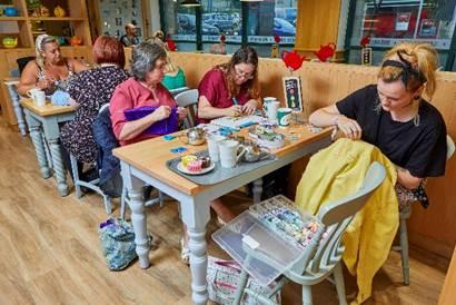 MEETINGS: Morrisons stores are offering their cafes as venues for community groups