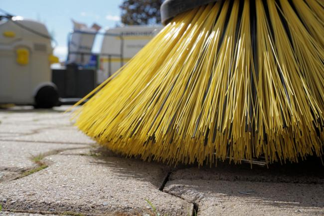 BROAD BRUSH: Street cleaning will be among the services offered by Elleston