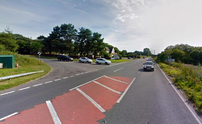 LOCATION: The Eagle Tavern junction on the A303. PICTURE: Google Street View