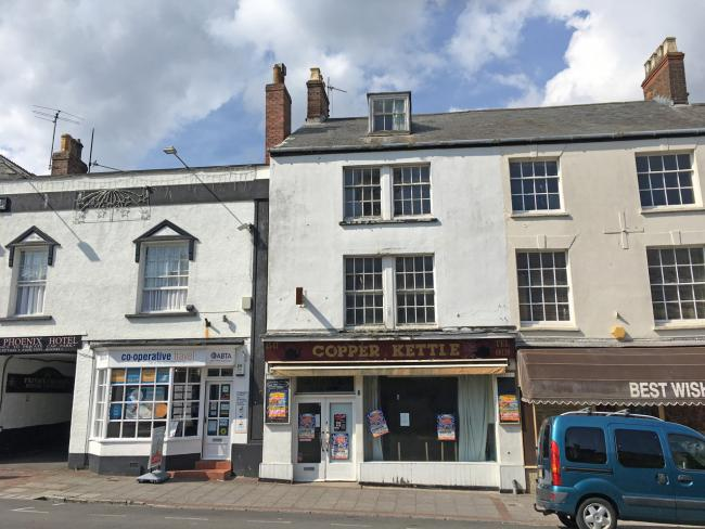 SOLD: The former cafe and shop in Fore Street, Chard