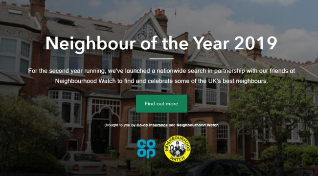 LAUNCHED: The 2019 Neighbour of the Year Award