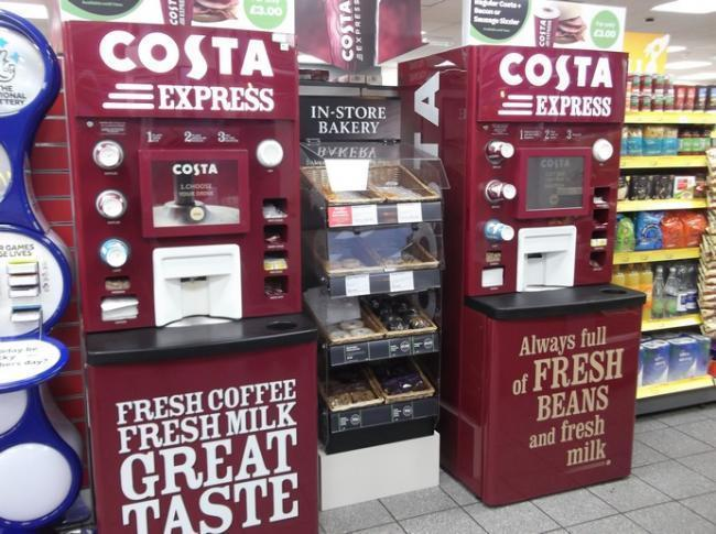 FREE COFFEE: Costa machines are giving away free coffee on Tuesday (and there's no catch)