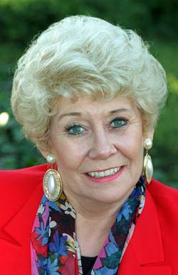 ICON: Liz Dawn, who portrayed Vera Duckworth in 'Corrie' for 34 years