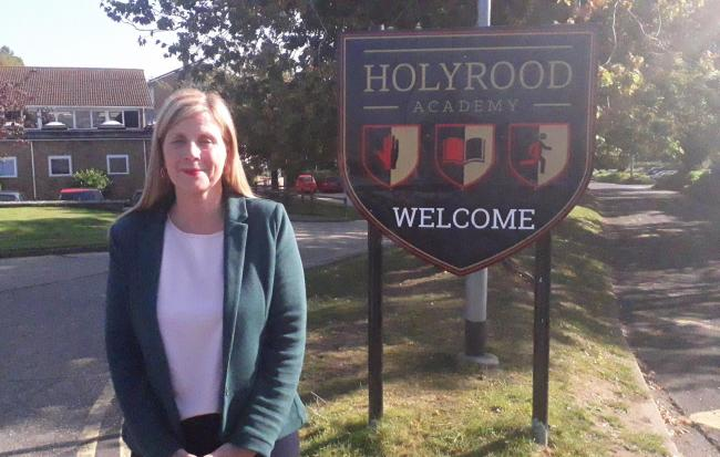 New Holyrood headteacher says 'there isn't a bullying problem' despite anger online