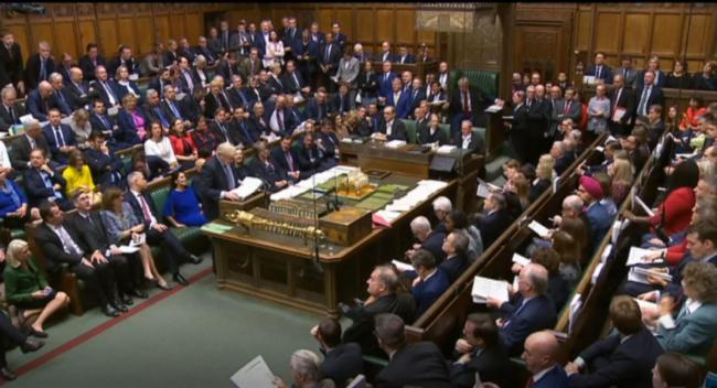 PACKED: This is the first time Parliament has sat on a Saturday since 1982