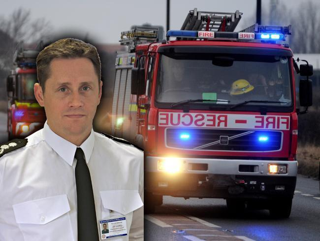 ANNOUNCEMENT: Chief Fire Officer Lee Howell