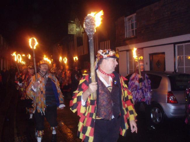 WASSAILING: A wassailing event in Somerset last year