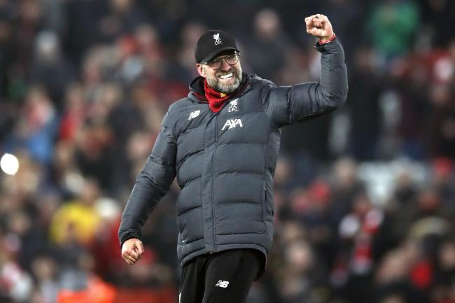 Jurgen Klopp's Liverpool are 16 points clear at the top of the Premier League