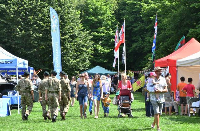 EVENT: Armed Forces Day in Taunton in 2019