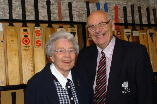 SADLY MISSED: Sheila and Tony Stedall