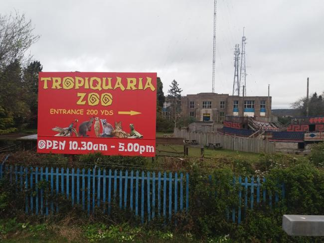 NOT RE-OPENING: Tropiquaria, at Washford Cross
