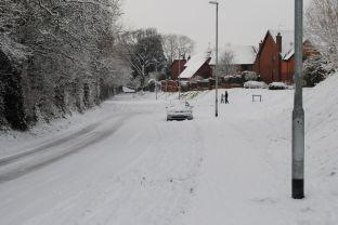 Old Preston Road in Yeovil. Photo: Christine Jones