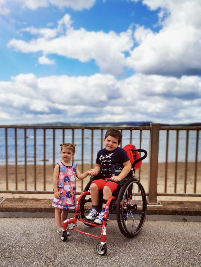 Disabled six-year-old to take on half-marathon in wheelchair challenge