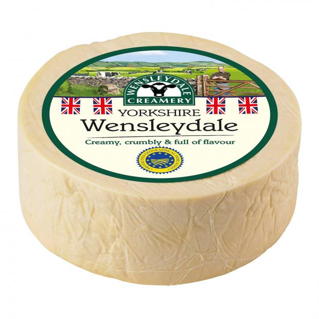 Yeovil Express: Wensleydale cheese. Picture credit: Wensleydale Creamery