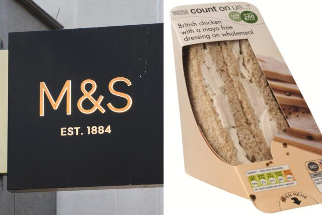 M&S sandwich factory: Nearly 300 staff test positive for coronavirus. Pictures: PA Wire/Marks and Spencer