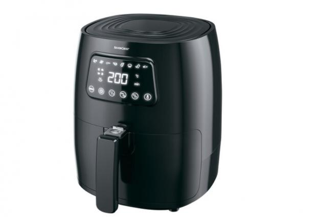 Yeovil Express: Silvercrest Digital Air Fryer. (Lidl)