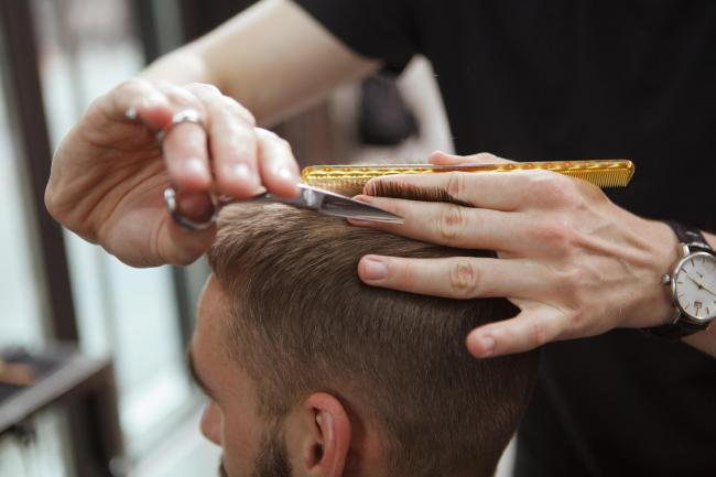 HAIRCUT: Salons in Wales have been allowed to open