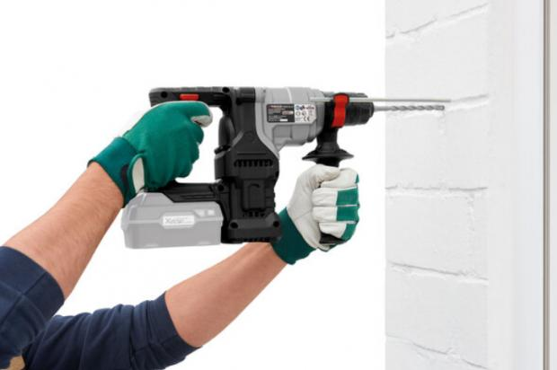 Yeovil Express: Parkside 20V Cordless Combi Hammer Drill – Bare Unit. (Lidl)