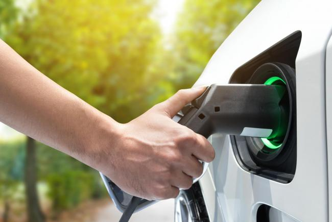 CHARGING: Taunton in Somerset had the biggest increase in searches for Electriv Vehicles last year