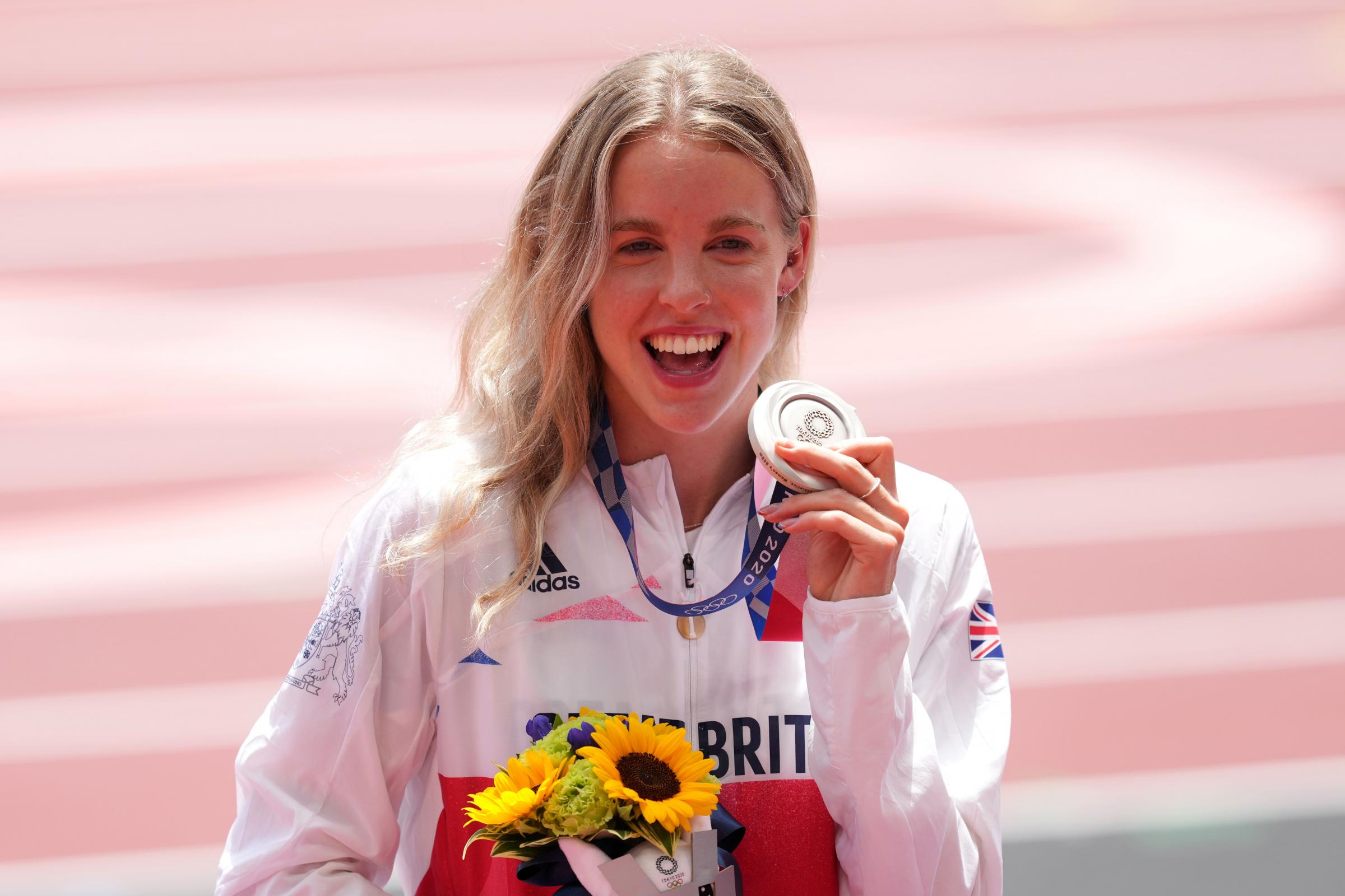 Lord Sebastian Coe likes what he sees from Keely Hodgkinson