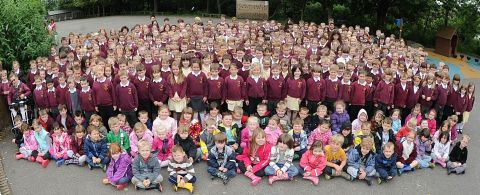 PUPILS at Redstart Primary School in Chard were praised for their behaviour in the OFSTED report. PHOTO: Jeff Searle.