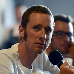 Bradley Wiggins was amongst the riders to suffer a puncture on Sunday