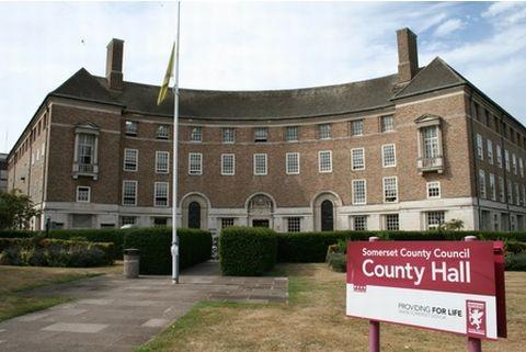 County Hall, Taunton.