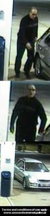 Do you recognise this petrol thief?