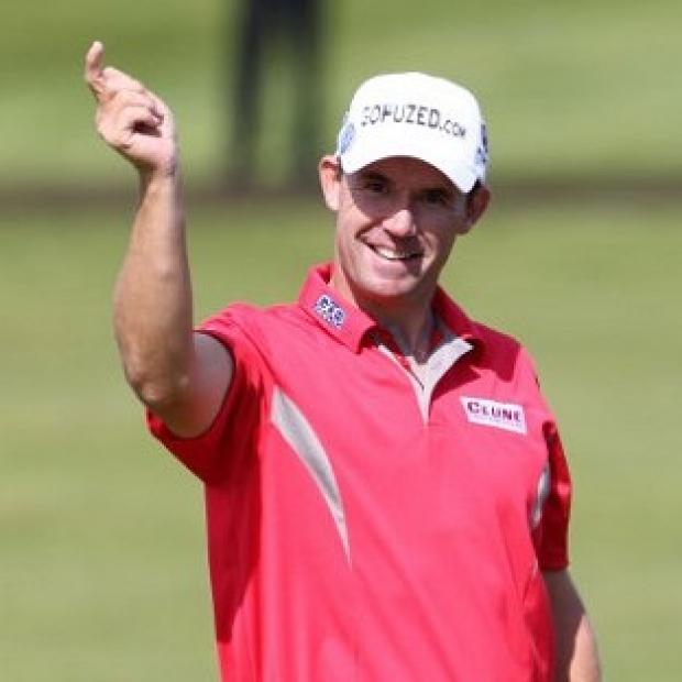 Padraig Harrington won the PGA Grand Slam of Golf by one shot.