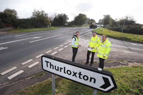 Reporter Daniel Milligan goes out on the roads with safety bosses Nick Cowling and Terry Beale.