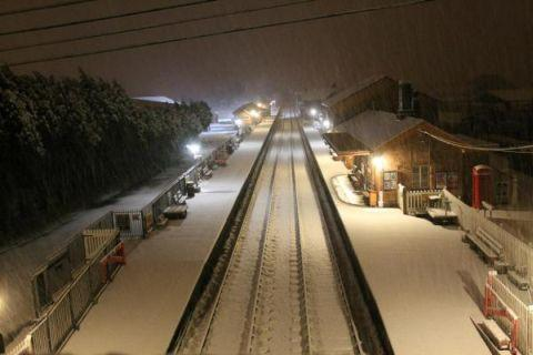 Yeovil Express: Bishops Lydeard Railway Station. January 23, 2013.
