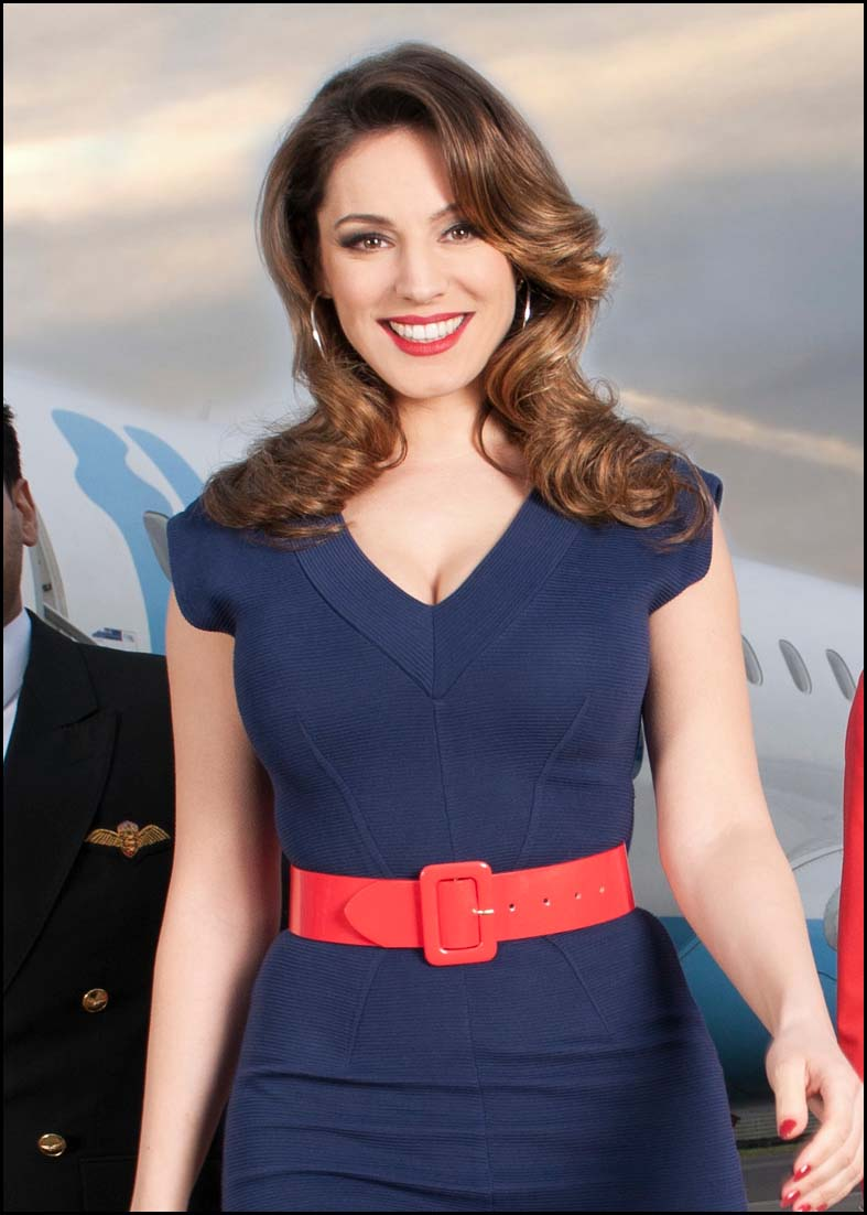 Yeovil Express: Kelly Brook for Sky Go Extra.JPG