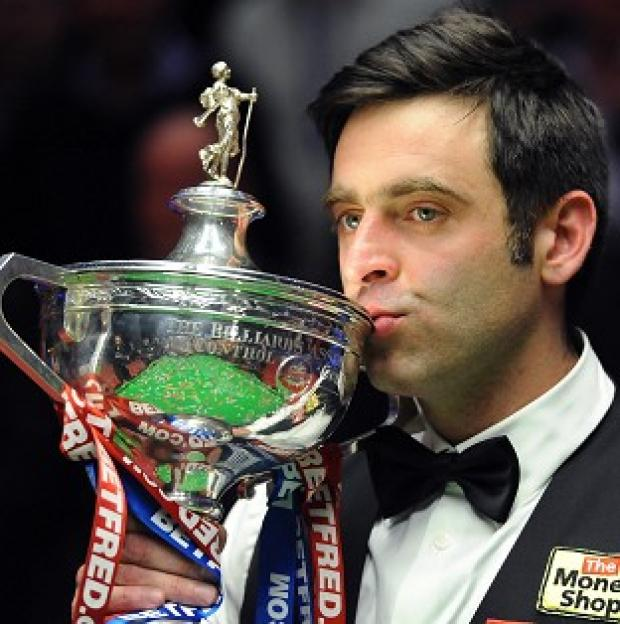 Yeovil Express: Ronnie O'Sullivan will defend his world title at Sheffield's Crucible Theatre this year