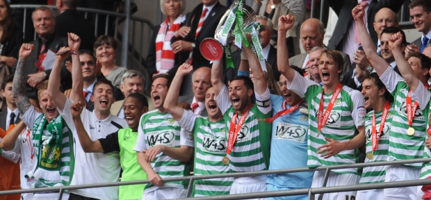 LIVE: Yeovil Town open top bus parade
