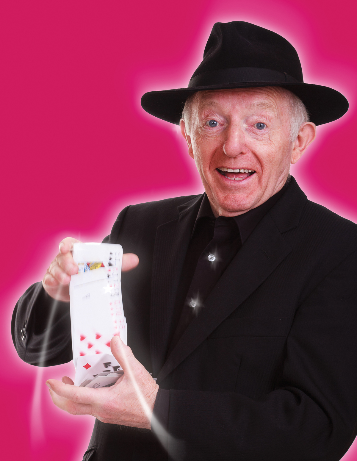 Paul Daniels and Debbie McGee chat about Burnham show