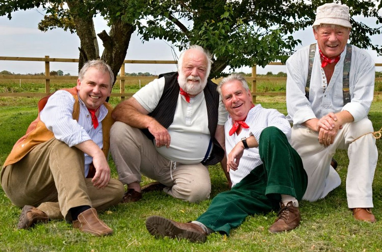 The Wurzels' flooding charity gig: Buy tickets