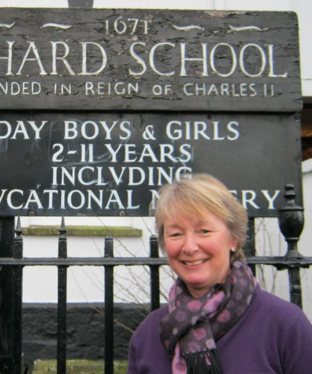 Yeovil Express: CHARD School head teacher Jane Bruce.