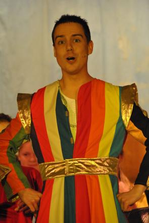 LUKE Marshall pictured in a past Broadway Amateur Theatre Society production of Joseph.