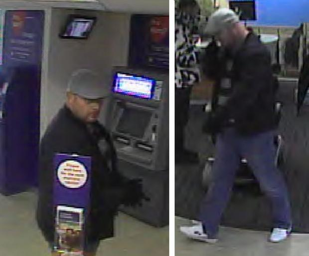 CCTV images of the man police would like to speak to regarding the crime.