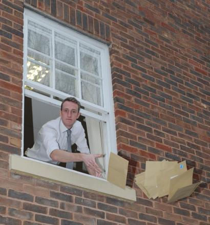 Chief reporter Daniel Milligan re-enacts PG Wodehouse's method of posting letters