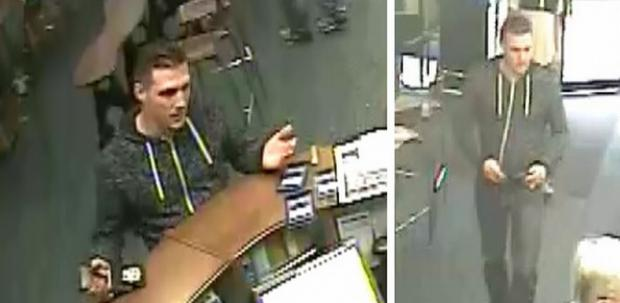 CCTV images release of man impersonating police officer in Chard