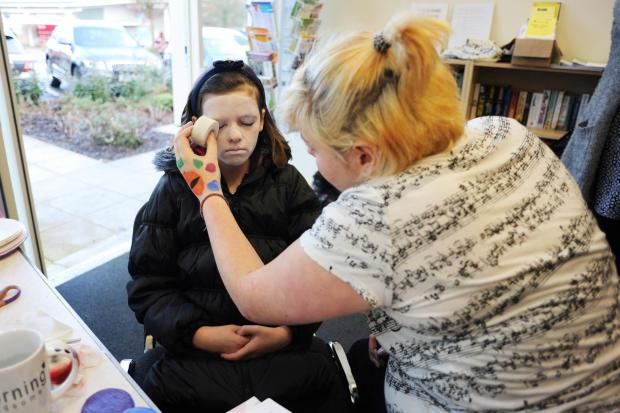 Yeovil Express: People can also learn how to master the art of face painting