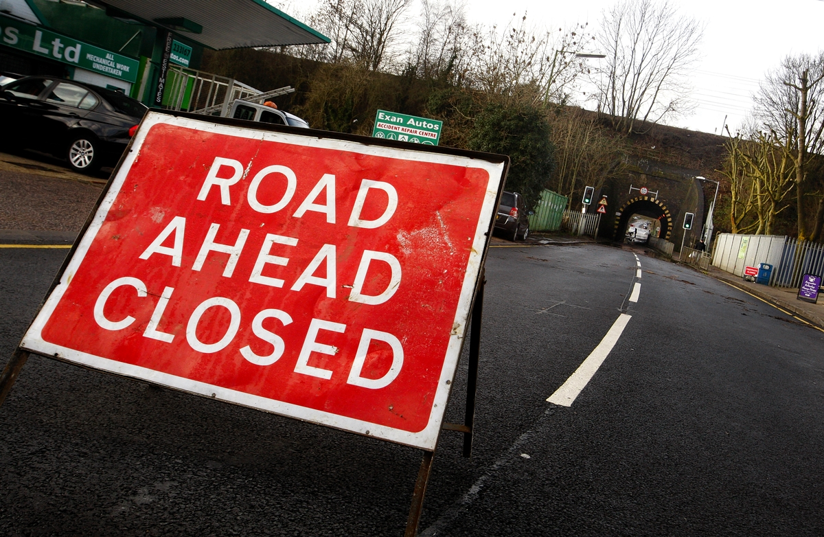 A303 near Chard to close for entire weekend