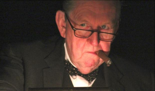 PIP Utton as Churchill.