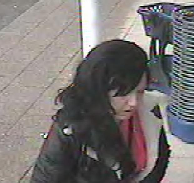 Woman sought to assist purse theft investigation