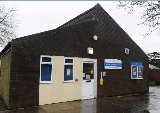 Yeovil Express: The police station in Chard.
